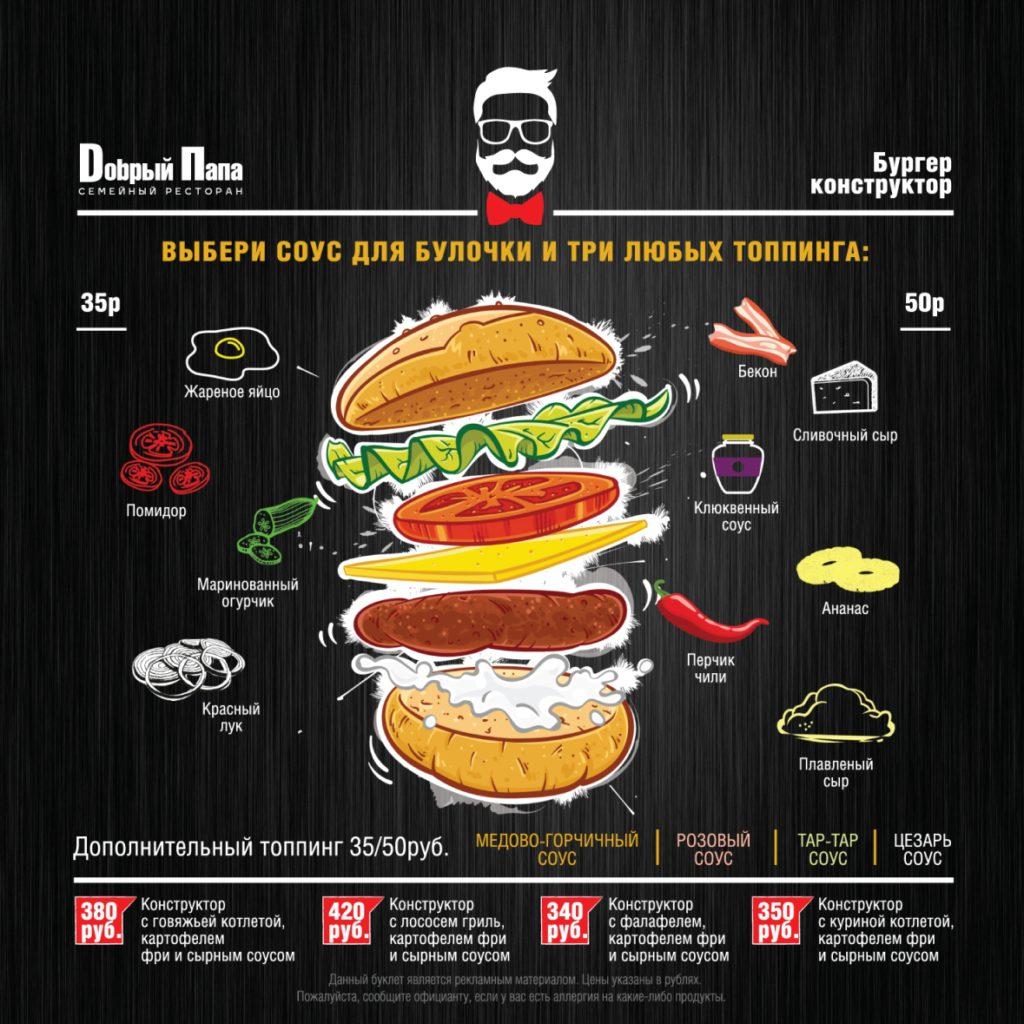 Гамбургер конструктор